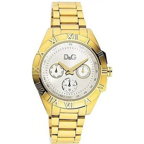 6c1269f01f7 Relogio Dolce Gabbana Dourado De Luxo - Relógios De Pulso no Mercado ...