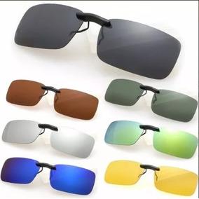 Clipon Clip On P  Oculos Sobrepor Lente Polarizada Uv400 cd64af47e4