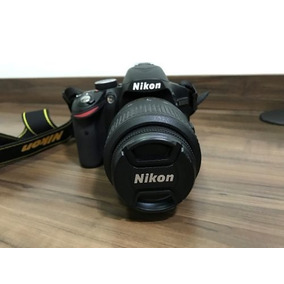 Cãmera Nikon D3200 , Completa Com Lente 18-55