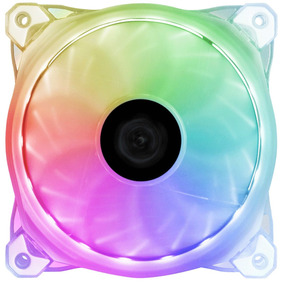Ventilador Raidmax Nv-r120tp 120 Mm Rgb Blanco