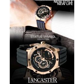 30f8143ab72 Relogio Lancaster Italy Vermelho - Relógios De Pulso no Mercado ...