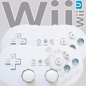 2 Controles Wii Classic P/ Nintendo Wii Nfe