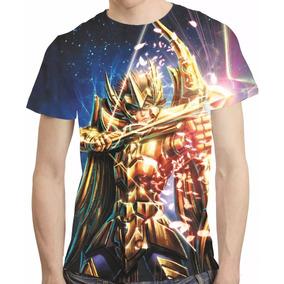 Camisa Cavaleiros Do Zodiaco Camiseta Aiolos Sargitario Hd