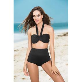 Bikini Cintura Alta Top Copas Convertible 6848*54-19