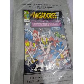 Os Vingadores-biblioteca Historica Marvel