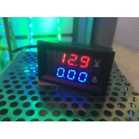 Amperimetro 50a E Voltímetro 0-100v Com Shunt