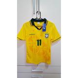2a31a456ee Camisa Brasil Umbro - Copa 94 - Romario 11