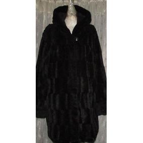 Talla Extra Abrigo Negro Importado Doble Vista Moda Yeti 42 a222df4625b1a