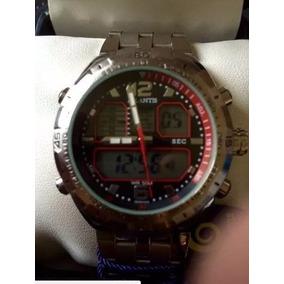 34ac35e700a Relogio Atlantis Tachymeter Prata G3225 - Relógios De Pulso no ...