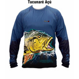 Camisa Monster 3x New Fisch -tucunaré Açu - Tam M