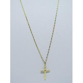 a07951baa08d7 Crucifixo Cruz De Ouro Maciço 18k Pingente De 1g - Joias e Relógios ...