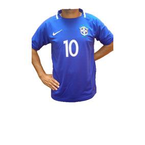Camisa Selecao Brasileira Infantil Azul - Calçados 90ce7702943dd