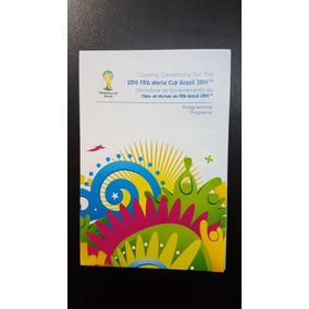 Programa Oficial Futebol Copa Do Mundo Fifa 2014 Brasil