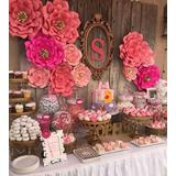 Flores De Papel Para Decoracion De Eventos En Mercado Libre Argentina