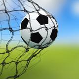 Adesivo Decorativo Bola Trave Chuteira Gol Jogador Futebol no ... fd1b0693b2bec