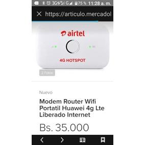 Modem Router Wifi Portatil Huaweii