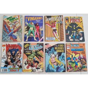 Lote Marvel Especial Editora Abril Demolidor Vingadores