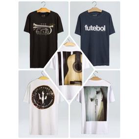 Kit 10 Camisetas Masculina M c Pre Lavada Algodao Atacado 1add6ff8e1e