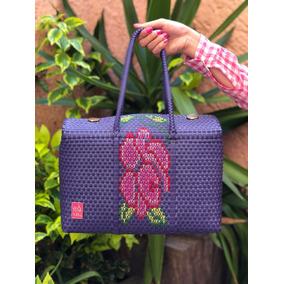 Bolsas Para Dama Artesanales Bordadas A Mano Flores Y Rosas