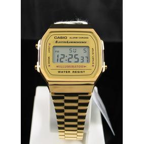 d596fabcb52 Relogio Casio Dourado - Relógio Casio no Mercado Livre Brasil