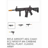Rifle Airsoft M4 Ca4a1 Ec2