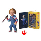 Chucky Ultimate Deluxe Caja 10,5 Cm Neca