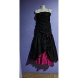 ** Vestido De Fiesta O Disfraz Halloween Color Negro**
