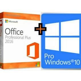 Windows 10 Pro+office 2016 Pro Licença Original Nfe