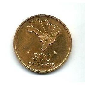 Moeda De Ouro 300 Cruzeiros 1972