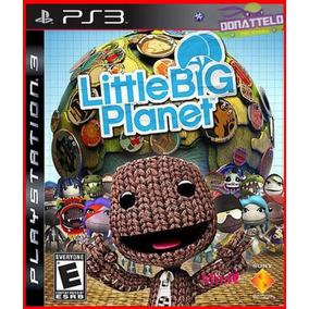 Little Big Planet 1 - Jogos Ps3 Psn Dublado Portugues