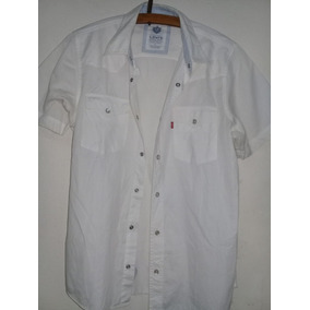 b4e7d7aa60f Camisa Levis - Camisas de Hombre Blanco en Mercado Libre Argentina