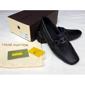 Mocasin Louis Vuitton + Cinturon Con Envio Gratis
