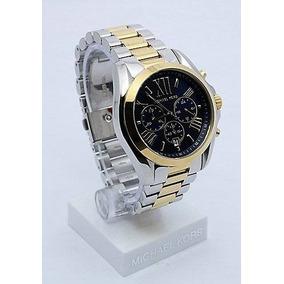 Relógio Michael Kors Mk8306 (masculino) Em Ouro E Prata. - Relógios ... 026338eaa7