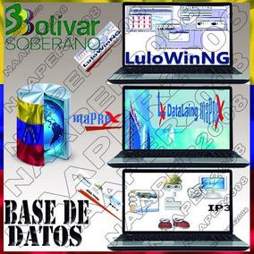 Base_datos, Maprex, Ip3, Lulowin, Ng, De Marzo 2019*