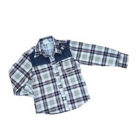 Camisa De Franela Para Niño