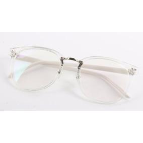 7f6141a70bb35 Armação Com Ponte De Metal Para Óculos De Grau- Transparente