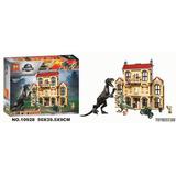 Tipo Lego 75930 Caos Del Indorraptor Mansión Jurassic World