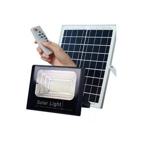 Refletor Holofote Led Solar 100w Luz Casa Iluminação Bateria