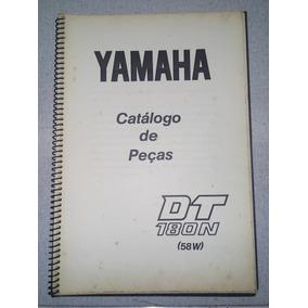 Catálogo De Peças Dt180n Yamaha 1986