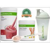 Kit Shake Herbalife 550g + Proteína 240g + Shakeira E Colher
