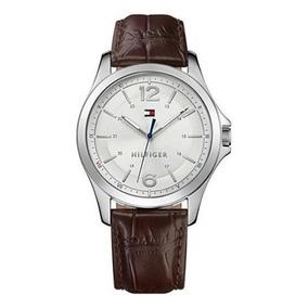 aa058351b96 Relógio Tommy Hilfiger Couro Marrom Masculino Frete Grátis ...