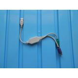 Adaptador Usb A Ps2 Etm-1333 1x Usb Ps2 Mouse Teclado Laptop