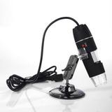 Microscopio Electronico 1000x Usb Con Luz Led Graduable