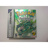 Pokemon Esmerald Version Juego De Game Boy Advance Gba