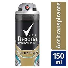 Desodorante Aerosol Rexona Sportfan 90g/150ml