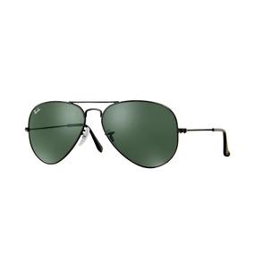 ebd672c39458c Ray Ban Rb3025 L2823 Aviator Negro Verde G 15 Clasico Gota - Lentes ...