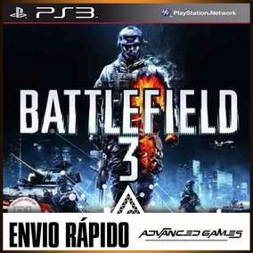 Bf3 Battlefield 3 - Jogos Ps3 Midia Digital