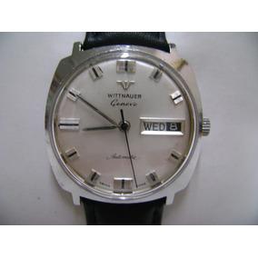Reloj Wittnauer Automático Vintage De Acero Inoxidable