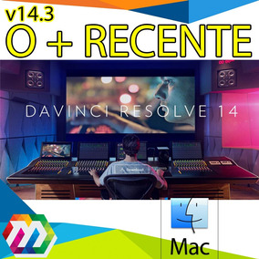 Davinci Resolve Studio Pro 14.3 Mac Envio Imediato