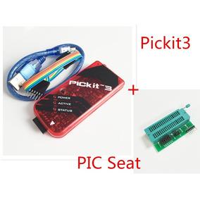 Pickit 3 + Adaptador Zif Programador Gravador Debugger